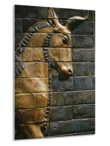 Babylonian Wall Tiles, Babylon, Iraq, Middle East-Christina Gascoigne-Metal Print