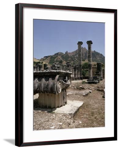Sardis, Anatolia, Turkey, Eurasia-Christina Gascoigne-Framed Art Print
