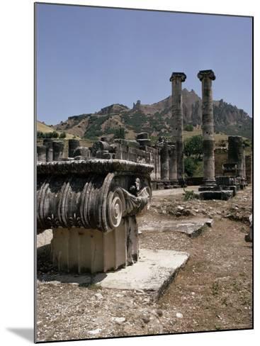 Sardis, Anatolia, Turkey, Eurasia-Christina Gascoigne-Mounted Photographic Print