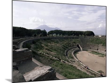Amphitheatre, Pompeii, Unesco World Heritage Site, Campania, Italy-Christina Gascoigne-Mounted Photographic Print