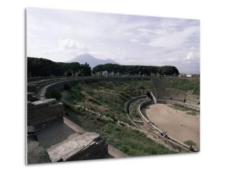 Amphitheatre, Pompeii, Unesco World Heritage Site, Campania, Italy-Christina Gascoigne-Metal Print
