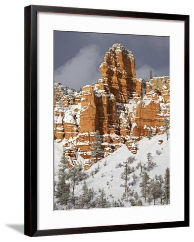 Red Rock Formations, Red Canyon, Dixie National Forest, Utah, USA-James Hager-Framed Art Print
