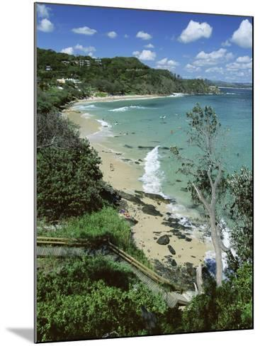 Watego and Beach, Surf Brake Between Byron Bay and Cape Byron, New South Wales (Nsw), Australia-Robert Francis-Mounted Photographic Print