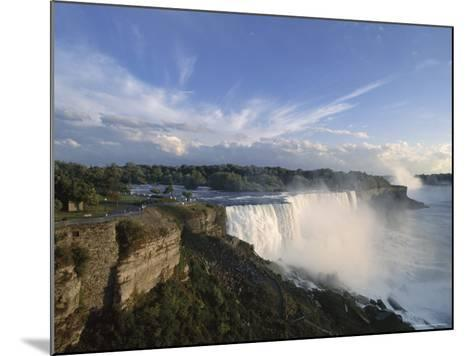 American Falls in Foreground, with Horseshoe Falls in the Background-Robert Francis-Mounted Photographic Print