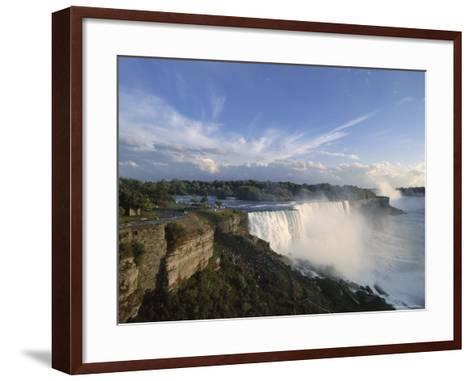American Falls in Foreground, with Horseshoe Falls in the Background-Robert Francis-Framed Art Print