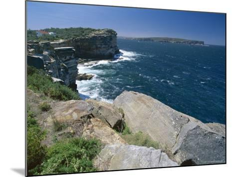 View from South Head Towards North Head at the Entrance to Sydney Harbour-Robert Francis-Mounted Photographic Print