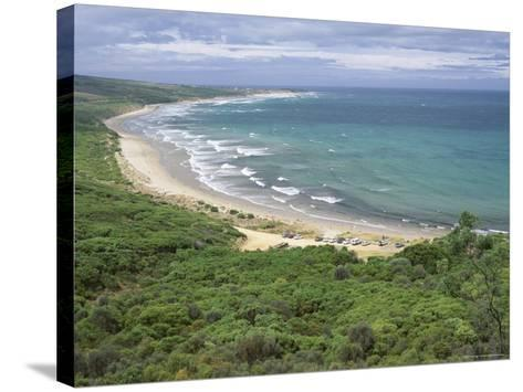 Coast of the Angahook-Lorne State Park, West of Anglesea, on Great Ocean Road, Victoria, Australia-Robert Francis-Stretched Canvas Print