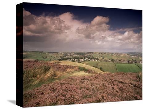 Countryside Near Haworth, Yorkshire, England, United Kingdom-R Mcleod-Stretched Canvas Print