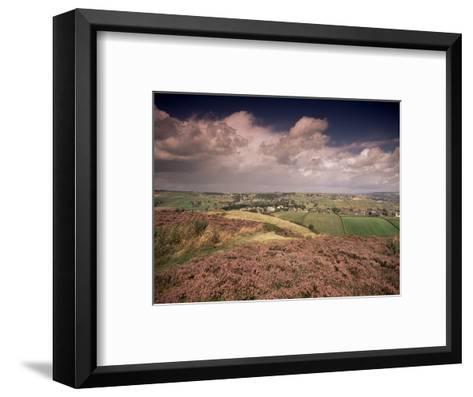 Countryside Near Haworth, Yorkshire, England, United Kingdom-R Mcleod-Framed Art Print
