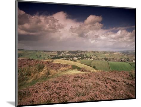 Countryside Near Haworth, Yorkshire, England, United Kingdom-R Mcleod-Mounted Photographic Print