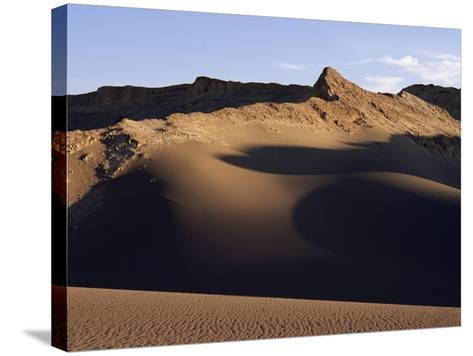 Valley of the Moon, Atacama, Chile, South America-R Mcleod-Stretched Canvas Print