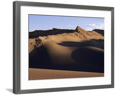 Valley of the Moon, Atacama, Chile, South America-R Mcleod-Framed Art Print
