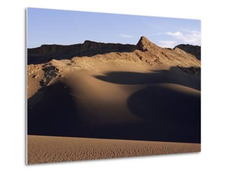 Valley of the Moon, Atacama, Chile, South America-R Mcleod-Metal Print
