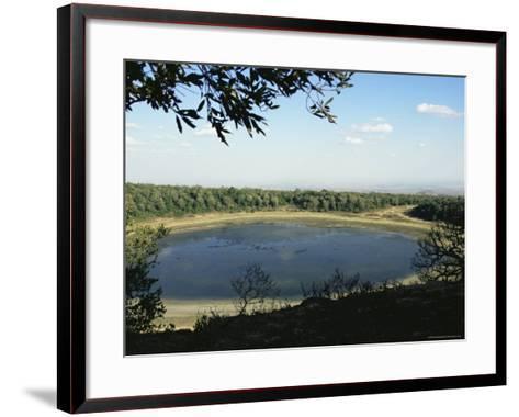 Lake Paradise, Marsabit National Park and Reserve, Kenya, East Africa, Africa-Storm Stanley-Framed Art Print