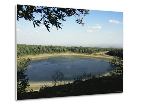 Lake Paradise, Marsabit National Park and Reserve, Kenya, East Africa, Africa-Storm Stanley-Metal Print