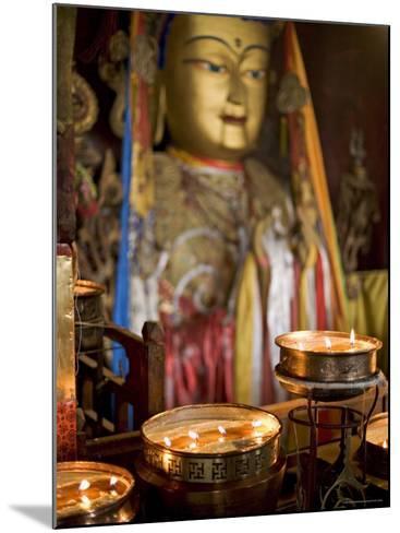 Meru Nyingba Monastery, Bharkor, Lhasa, Tibet, China-Don Smith-Mounted Photographic Print