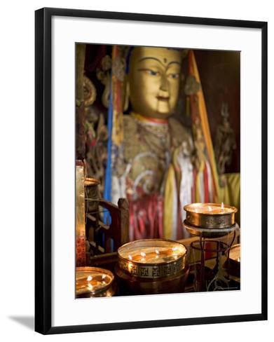 Meru Nyingba Monastery, Bharkor, Lhasa, Tibet, China-Don Smith-Framed Art Print