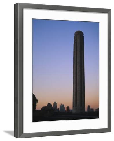 Liberty Memorial, Kansas City, Missouri, USA-Michael Snell-Framed Art Print