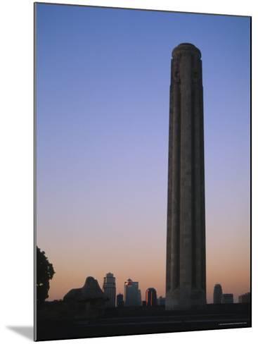 Liberty Memorial, Kansas City, Missouri, USA-Michael Snell-Mounted Photographic Print