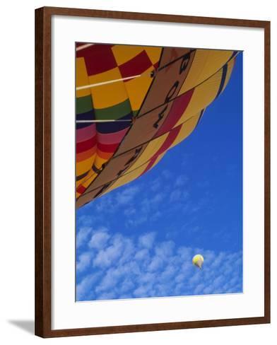 Hot Air Balloons, Albuquerque, New Mexico, USA-Michael Snell-Framed Art Print