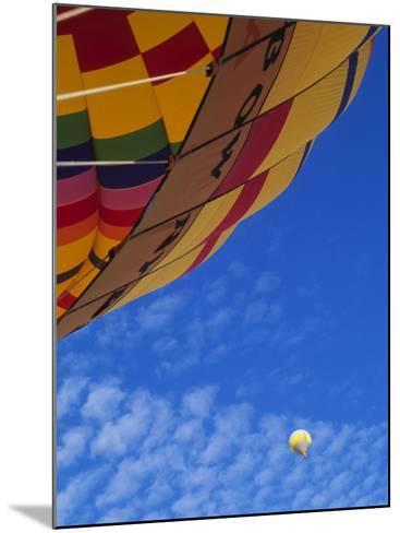 Hot Air Balloons, Albuquerque, New Mexico, USA-Michael Snell-Mounted Photographic Print