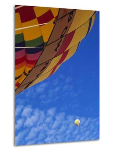 Hot Air Balloons, Albuquerque, New Mexico, USA-Michael Snell-Metal Print