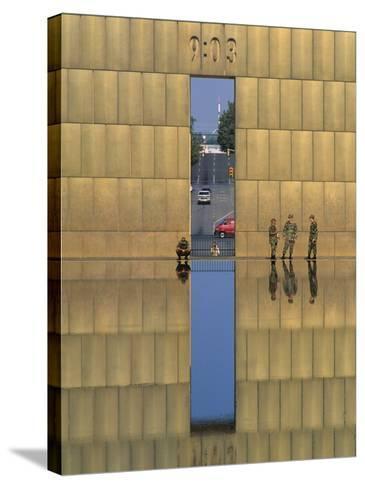Oklahoma City National Memorial, Oklahoma City, Oklahoma, USA-Michael Snell-Stretched Canvas Print