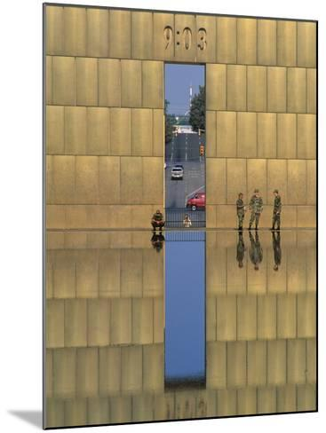 Oklahoma City National Memorial, Oklahoma City, Oklahoma, USA-Michael Snell-Mounted Photographic Print