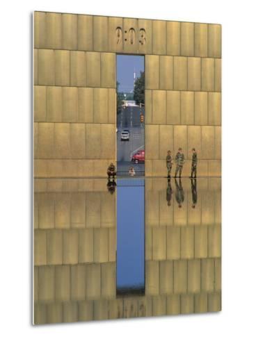 Oklahoma City National Memorial, Oklahoma City, Oklahoma, USA-Michael Snell-Metal Print