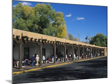 Palace of the Governors, Santa Fe, New Mexico, USA-Michael Snell-Mounted Photographic Print