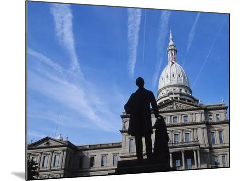 Michigan State Capitol, Lansing, Michigan, USA-Michael Snell-Mounted Photographic Print