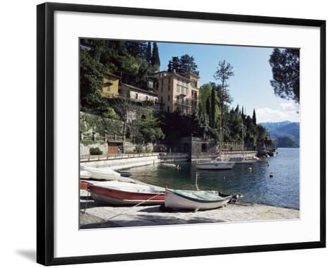 Varenna, Lake Como, Lombardy, Italian Lakes, Italy-Sheila Terry-Framed Art Print