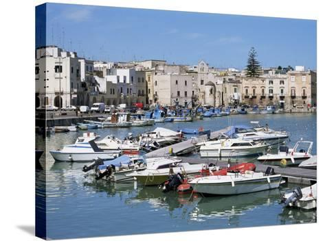 The Harbour, Trani, Puglia, Italy, Mediterranean-Sheila Terry-Stretched Canvas Print