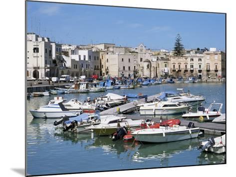 The Harbour, Trani, Puglia, Italy, Mediterranean-Sheila Terry-Mounted Photographic Print