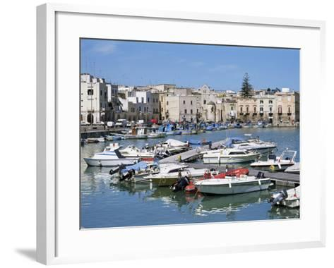 The Harbour, Trani, Puglia, Italy, Mediterranean-Sheila Terry-Framed Art Print