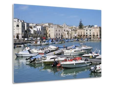 The Harbour, Trani, Puglia, Italy, Mediterranean-Sheila Terry-Metal Print
