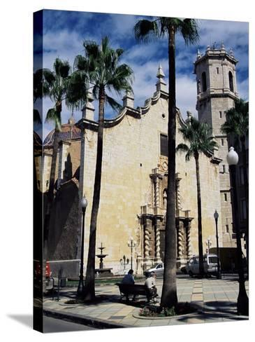 Cathedral, Benicarlo, Valencia, Spain-Sheila Terry-Stretched Canvas Print