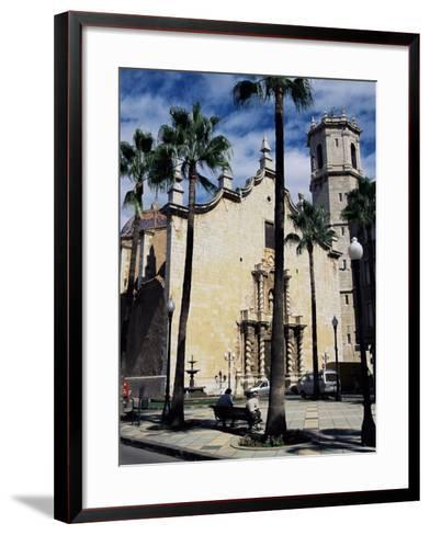 Cathedral, Benicarlo, Valencia, Spain-Sheila Terry-Framed Art Print