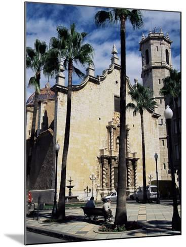 Cathedral, Benicarlo, Valencia, Spain-Sheila Terry-Mounted Photographic Print