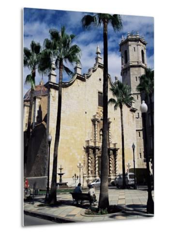 Cathedral, Benicarlo, Valencia, Spain-Sheila Terry-Metal Print
