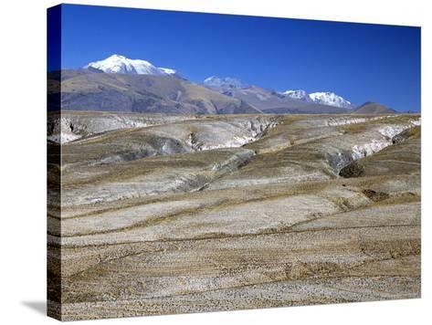Altiplano Desert Plateau, Near Arequipa, Peru, South America-Tony Waltham-Stretched Canvas Print