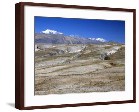 Altiplano Desert Plateau, Near Arequipa, Peru, South America-Tony Waltham-Framed Art Print