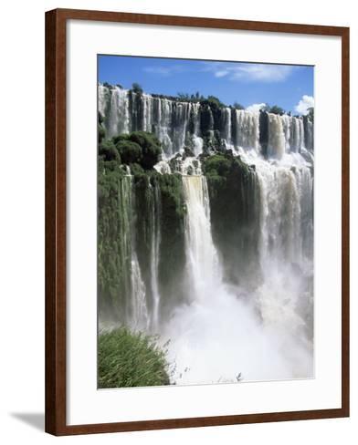 Iguassu Falls, Iguazu National Park, Unesco World Heritage Site, Argentina, South America-Jane Sweeney-Framed Art Print