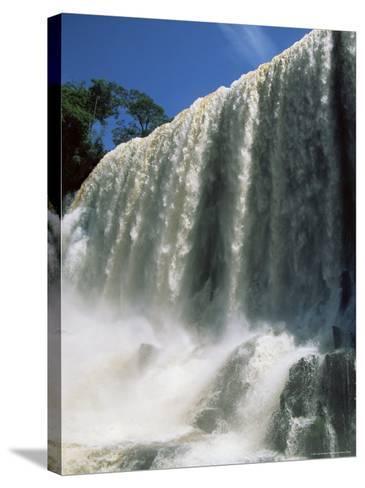 Iguassu Falls, Iguazu National Park, Unesco World Heritage Site, Argentina, South America-Jane Sweeney-Stretched Canvas Print