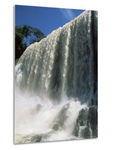 Iguassu Falls, Iguazu National Park, Unesco World Heritage Site, Argentina, South America-Jane Sweeney-Metal Print