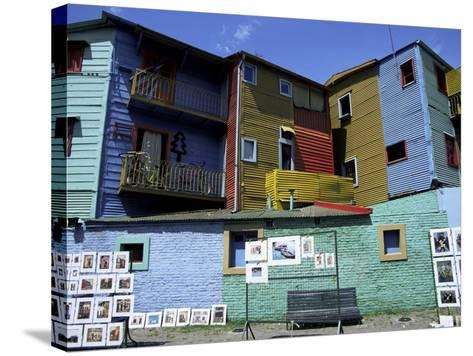 Paintings, La Boca, Buenos Aires, Argentina, South America-Jane Sweeney-Stretched Canvas Print