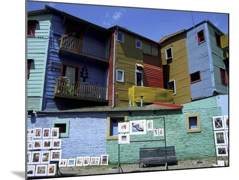 Paintings, La Boca, Buenos Aires, Argentina, South America-Jane Sweeney-Mounted Photographic Print