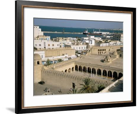 View from Ribat of the Medina, Sousse, Unesco World Heritage Site, Tunisia, North Africa, Africa-Jane Sweeney-Framed Art Print
