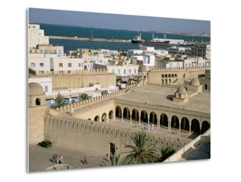 View from Ribat of the Medina, Sousse, Unesco World Heritage Site, Tunisia, North Africa, Africa-Jane Sweeney-Metal Print