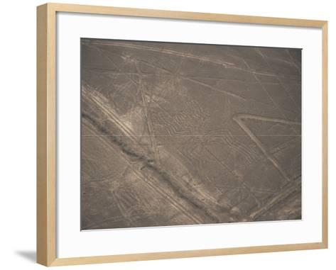 Spider, Nazca (Nasca) Lines, Unesco World Heritage Site, Peru, South America-Jane Sweeney-Framed Art Print